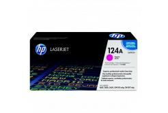 HP 124A Q6003A purpurowy (magenta) toner oryginalny