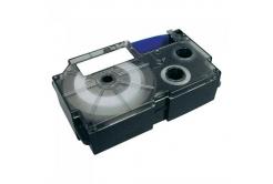 Casio XR-9SR1, 9mm x 8m, czarny druk / srebrny podkład, taśma oryginalna