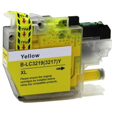 Brother LC-3217XL / LC-3219XL żółty (yellow) tusz zamiennik