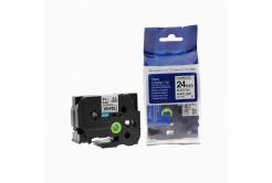 Brother TZ-FX251/TZe-FX251, 24mm x 8m, flexi, czarny druk/biały podkład, taśma zamiennik