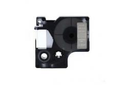 Taśma zamiennik Dymo 40920, 9mm x 7m, biały druk / przezroczysty podkład