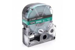 Epson LC-SD9GW, 9mm x 8m, biały druk / zielony podkład, taśma zamiennik