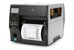 "Zebra ZT420 ZT42062-T0E0000Z, TT drukarka etykiet, 6"", 203 dpi, RS232, USB, Bluetooth, EZPL, LAN"