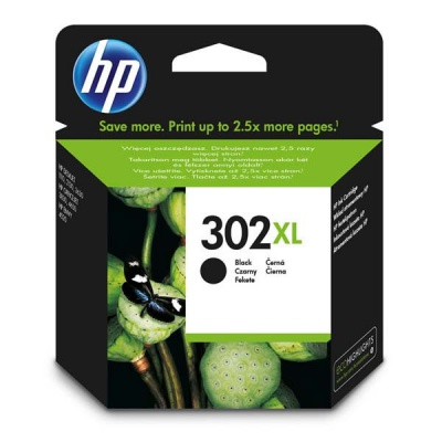 HP 302XL F6U68AE czarny (black) tusz oryginalna