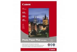Canon SG-201 Photo Paper Plus Semi-Glossy, papier fotograficzny, półbłyszczący, satyna, biały, A3, 260 g/m2, 20 szt.