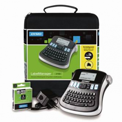 Dymo LabelManager 210D drukarka etykiet z walizką