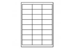 Samoprzylepne etykiety 64,6 x 33,8 mm, 24 etykiet, A4, 100 arkuszy