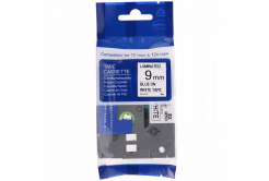 Taśma zamiennik Brother TZ-FX223 / TZe-FX223, 9mm x 8m, flexi, niebieski druk / biały podkład