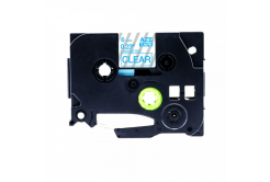 Taśma zamiennik Brother TZ-113 / TZe-113, 6mm x 8m, niebieski druk / przezroczysty podkład