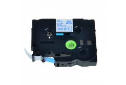Taśma zamiennik Brother TZ-233 / TZe-233, 12mm x 8m, niebieski druk / biały podkład