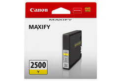 Canon tusz oryginalna PGI-2500 Y, yellow, 9.6ml, 9303B001, Canon MAXIFY iB4050,iB4150,MB5050,MB5150,MB5350,MB5450