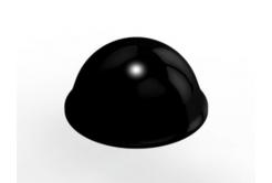 3M Bumpon SJ5027 czarny, taca= 40 szt.