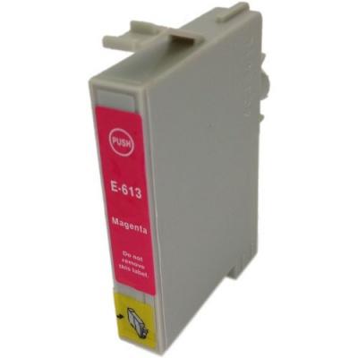 Epson T0613 purpurowy (magenta) tusz zamiennik