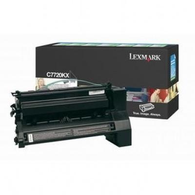 Lexmark C7720KX czarny (black) toner oryginalny