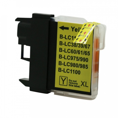 Brother LC-980 / LC-1100 żółty (yellow) tusz zamiennik