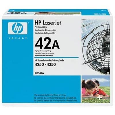 HP 42A Q5942A czarny (black) toner oryginalny