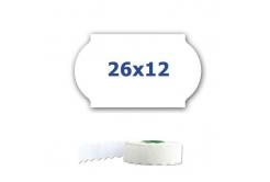 Cenové etikety do kleští, 26mm x 12mm, 900ks, białe