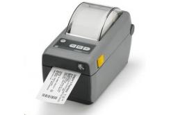 Zebra ZD410 ZD41022-D0E000EZ drukarka etykiet, 8 dots/mm (203 dpi), MS, RTC, EPLII, ZPLII, USB, BT (BLE), dark grey