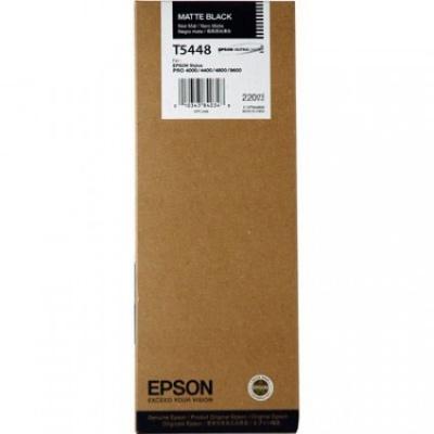 Epson T544800 matte czarny (matte black) tusz oryginalna