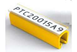 Partex PTC50021A9, białe, 100 szt., (6,0-7,2mm), PTC oznaczniki nasuwane na etykietę