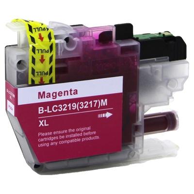 Brother LC-3217XL / LC-3219XL purpurowy (magenta) tusz zamiennik