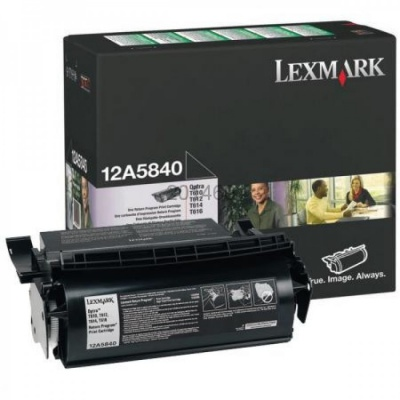 Lexmark 12A5840 czarny (black) toner oryginalny