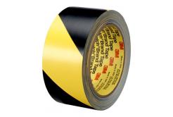 3M 766 taśma PVC żółto-czarny, 50 mm x 33 m
