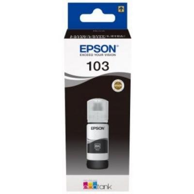 Epson tusz oryginalna C13T00S14A, 103, black, 65ml, Epson EcoTank L3151, L3150, L3111, L3110