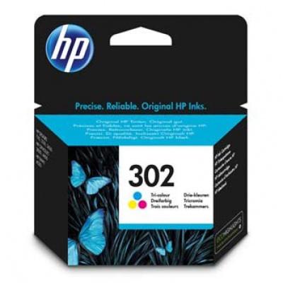 HP 302 F6U65AE kolorowa (color) tusz oryginalna
