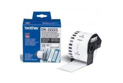 Brother DK-22223, 50mm x 30,48m, etykiety papierowe oryginalne