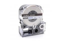 Epson LC-SS24BW, 24mm x 8m, niebieski druk / biały podkład, taśma zamiennik