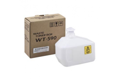 Kyocera pojemnik na zużyty toner, oryginalny WT-590, 15000 stron, 302KV93110, Kyocera FS-C2026MFP/C2126MFP/C2626MFP, P6021cdn/P6026cdn