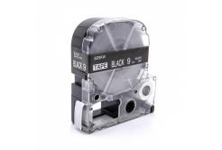 Epson LC-SD9KW, 9mm x 8m, biały druk / biały podkład, taśma zamiennik