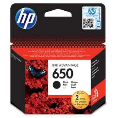 HP 650 CZ101AE czarny (black) tusz oryginalna