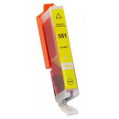 Canon CLI-551XL żółty (yellow) tusz zamiennik