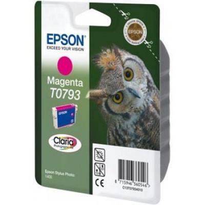 Epson T079340 purpurowy (magenta) tusz oryginalna