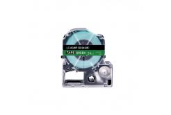 Epson LC-SD24GW, 24mm x 8m, biały druk / zielony podkład, taśma zamiennik