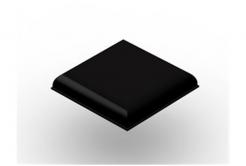3M Bumpon SJ5705 czarny, taca = 9 szt.