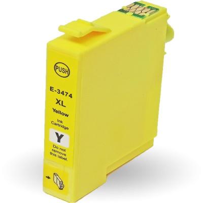 Epson T3474 żółty (yellow) tusz zamiennik