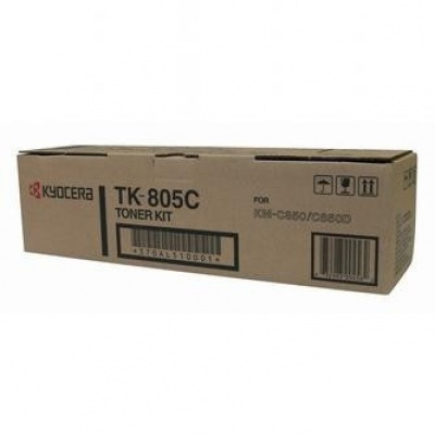 Kyocera Mita TK-805C błękitny (cyan) toner oryginalny