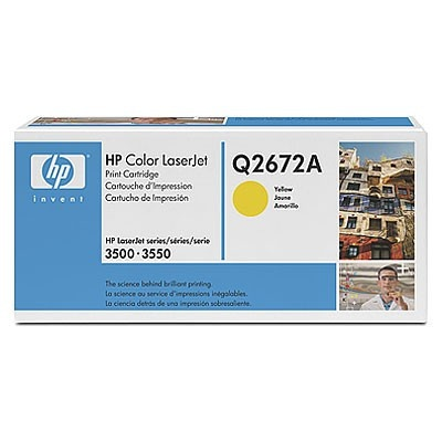 HP 309A Q2672A żółty (yellow) toner oryginalny