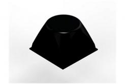 3M Bumpon SJ5514 czarny, taca = 4 szt.