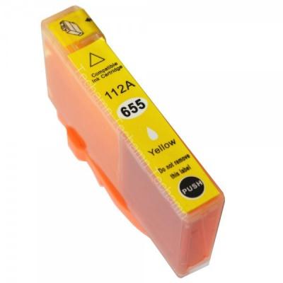 HP 655XL CZ112A żółty (yellow) tusz zamiennik