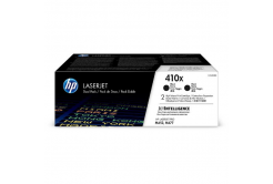 HP 410X CF410XD 2ks czarny (black) toner oryginalny