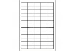 Samoprzylepne etykiety 38 x 21,2 mm, 65 etykiet, A4, 1000 list