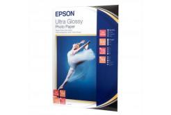 Epson S041927 Ultra Glossy Photo Paper, papier fotograficzny, błyszczący, biały, 13x18cm, 300 g/m2, 15 szt.