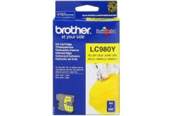 Brother LC-980Y żółty (yellow) tusz oryginalna