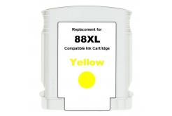 HP 88XL C9393A żółty (yellow) tusz zamiennik