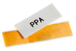 Partex PPA+09000DN4, żółty taśma samoprzylepna PPA+, 25m