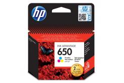 HP 650 CZ102AE kolorowa tusz oryginalna